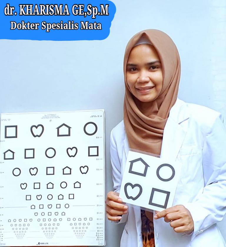 dr. Kharisma GE, Sp. M